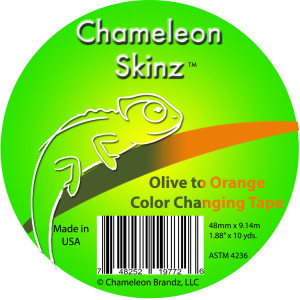 Chameleon Skinz Tape Olive Orange